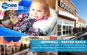 Goodwill ribbon cutting